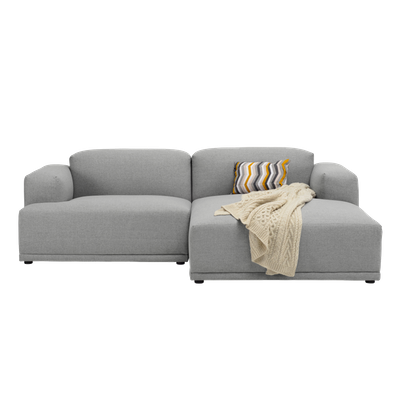 Flex 3 Seater L Shape Sofa Squirrel Grey Malmo Hipvan