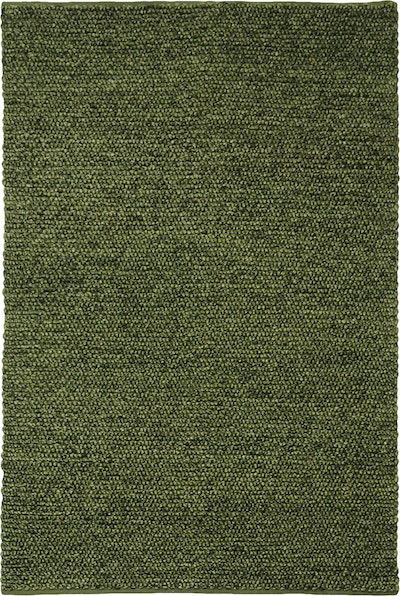 Delilah 100% New Zealand Felted Wool Rug (2m by 3m) - Olive Green - Image 1
