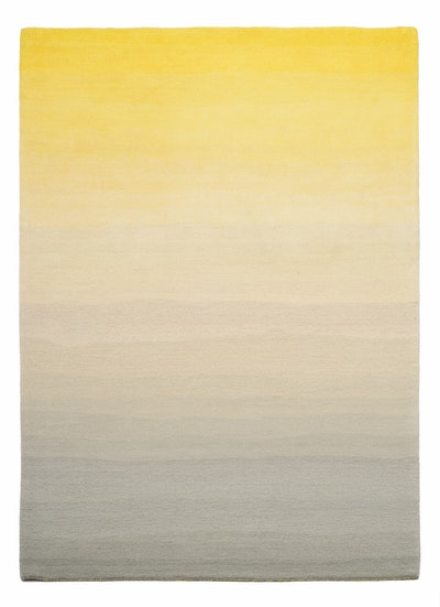 Sunny Wool Rug (2m by 3m) - Dusk Yellow - Image 1