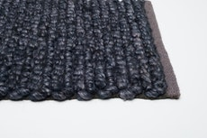 Delilah Hand Woven Rug - Large - Midnight Blue - Image 2