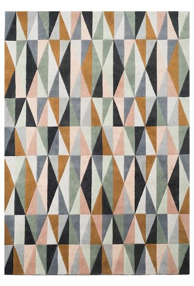 Sophia Hand Tufted Wool Rug - Colourful - Image 1