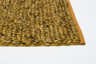 Delilah 100% New Zealand Felted Wool Rug (2m by 3m) - Yellow - Image 2