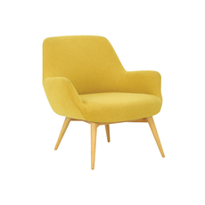 Berlingo Lounge Chair - Yellow - Image 1
