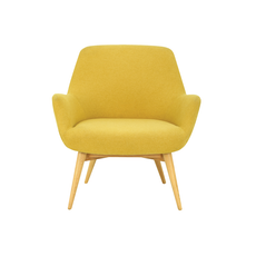 Berlingo Lounge Chair - Yellow - Image 2