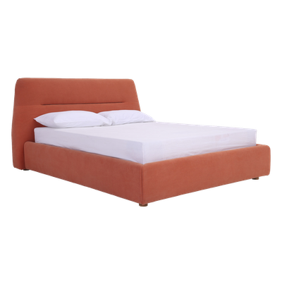 Telly Queen Bed - Persimmon - Image 1
