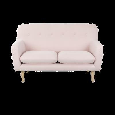 Sienna Loveseat - Pink - Image 1