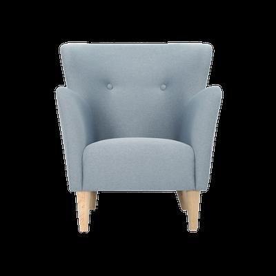 Cruiser Lounge Chair - Oak, Platinum - Image 1