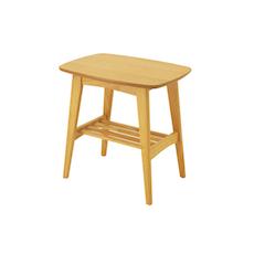 Hubie Side Table - Natural - Image 1