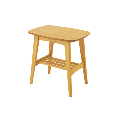 Hubie Side Table - Natural - Image 1
