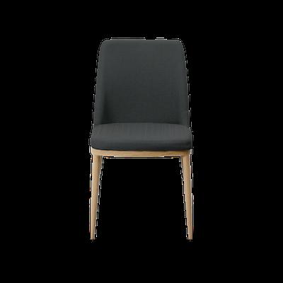 Kate Dining Chair - Oak, Granite (Set of 4) - Image 2