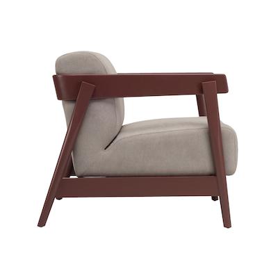 Daewood Lounge Chair - Graphite Grey, Midnight Blue - Image 2