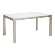 Elwood 6 Seater Dining Table - White - Image 1