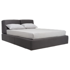 Dante Queen Bed - Paloma - Image 1