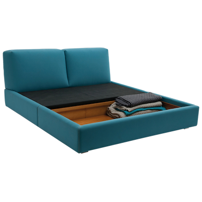 Dante Queen Bed - Paloma - Image 2