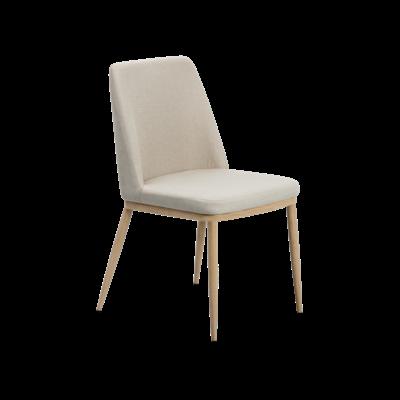 Kate Dining Chair - Oak, Khaki (Set of 4) - Image 1