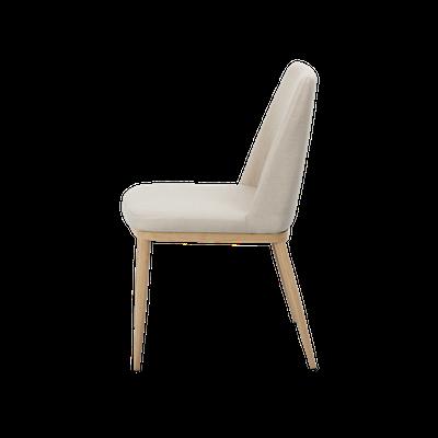 Kate Dining Chair - Oak, Khaki (Set of 4) - Image 2