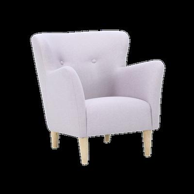 Cruiser Lounge Chair - Oak, Pearl - Image 1