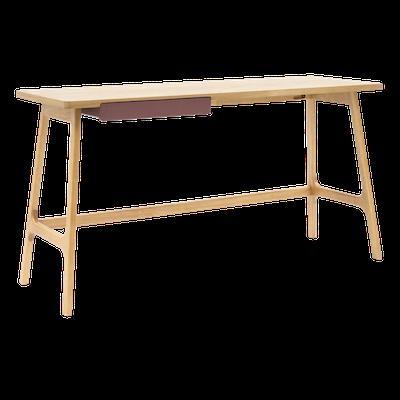 Morey Working Desk - Natural, Penny Brown - Image 2