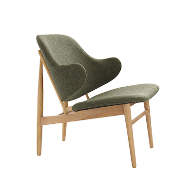Chloe Lounge Chair - Forrest, Oak - Image 1