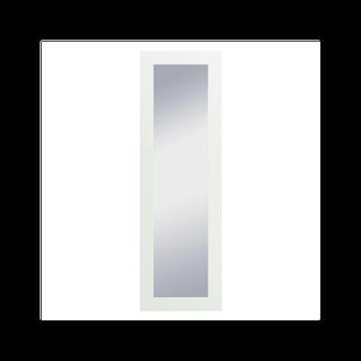 Dahlia Full Length Floor Mirror 60 x 190 cm - White - Image 1
