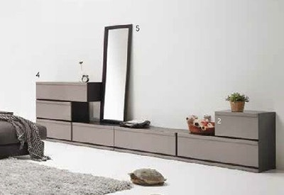 Dahlia Full Length Floor Mirror 60 x 140 cm - Black - Image 2