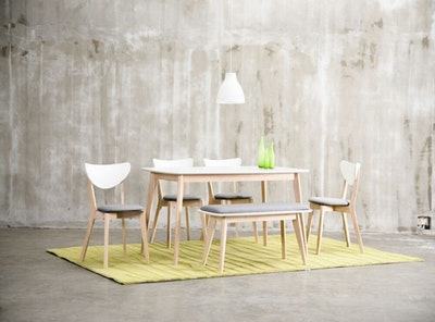 Harold Dining Chair - Grey (Set of 2) - Image 2