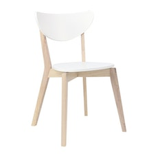 Naida Dining Chair - White (Set of 2) - Image 1