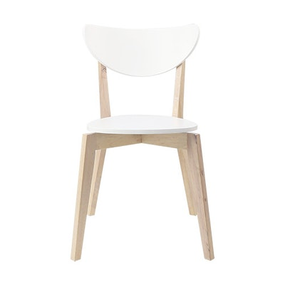 Naida Dining Chair - White (Set of 2) - Image 2