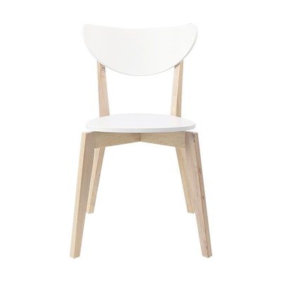Harold Dining Chair - White (Set of 2) - Image 2
