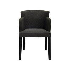 Rhoda Arm Chair - Black, Mud (Set of 2) - Image 2