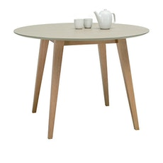 Ralph 4 Seater Round Dining Table - Natural, Taupe Grey - Image 2