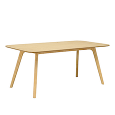 Roden 8 Seater Dining Table - Natural - Image 1