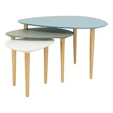 Corey Occasional Medium Table - Dust Blue - Image 2