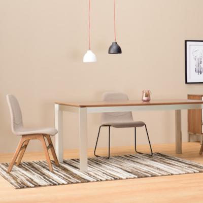 Ava Dining Chair - Black, Paloma (Set of 2) - Image 2