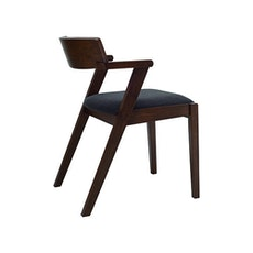 Zola Dining Chair - Natural, Seal (Set of 2) - Image 2