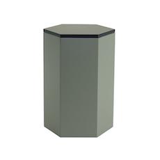 Felix Storage Stool Table - Black, Grey - Image 1