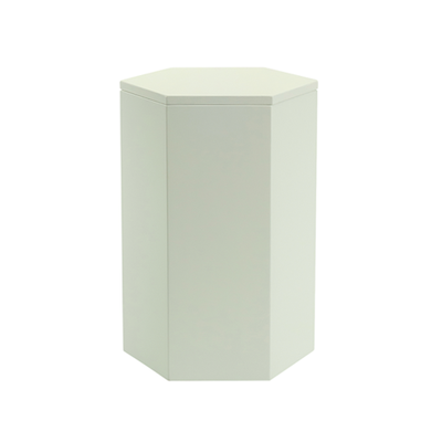 Felix Storage Stool Table - White - Image 1