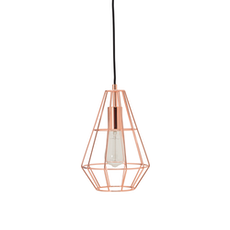 Fika Lamp with Pear Shape Bulb - Copper - Image 1