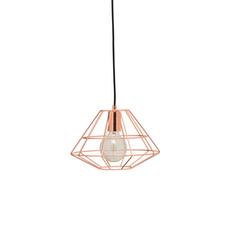 Fika Lamp with Round Bulb - Copper - Image 1