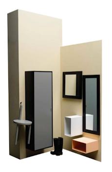 Faber Shoe Cabinet - Grey - Image 2