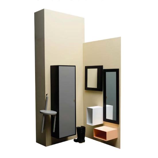 Shape - Faber Shoe Cabinet - Grey