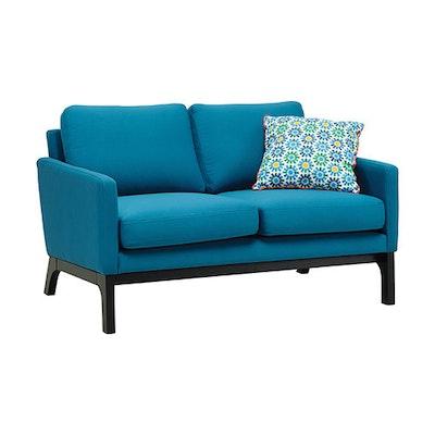 Cove Twin Seater Sofa - Black, Mocha - Image 2