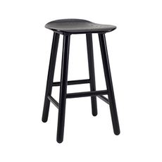 Hetty Counter Stool - Black Ash - Image 1