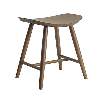 Philly Stool - Walnut Veneer - Image 1