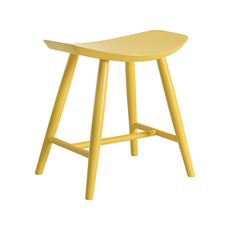 Philly Stool - Dust Yellow Lacquered - Image 1