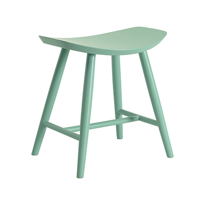 Philly Stool - Light Green Lacquered - Image 1