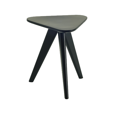 Petite Stool / Small Table - Black Ash Veneer - Image 1