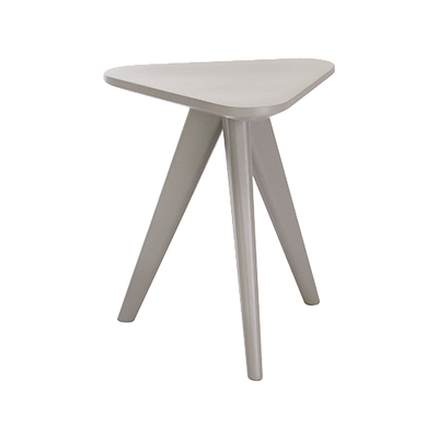 Petite Stool / Small Table - Grey Lacquered - Image 1