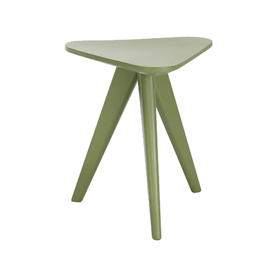 Petite Stool / Small Table - Green Lacquered - Image 1