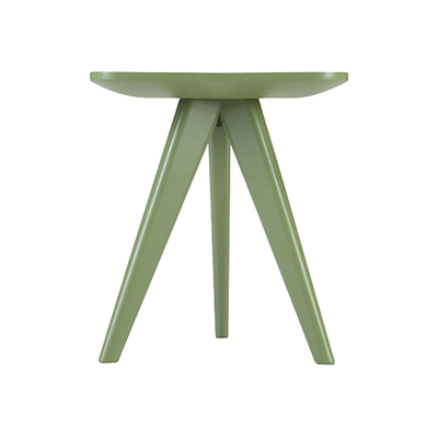 Petite Stool / Small Table - Blue Lacquered - Image 2